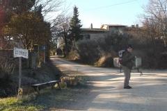 Bucine-S.Leolino-Mercatale -Montevarchi. Febbraio '15