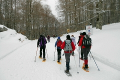 Ciaspolata sul Gran Sasso 16-17 Febbraio 2013