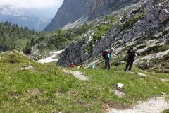 Dolomiti: Cortina- Riogere- rifugio Santa Fosca.  Luglio '14