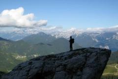 Monte Civetta Ferrata degli Alleghesi Sett. 2009