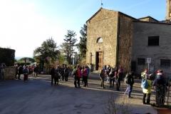 Toscana. Chianti.Anello di Volpaia.Gennaio '17