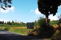 Val D'Elsa. Seminotturna S.Gimignano-Certaldo. Settembre '15