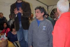 Valdambra:gemellaggio con sez.CAI Paularo(UD)-Comune di Bucine. La cena-Aprile'14