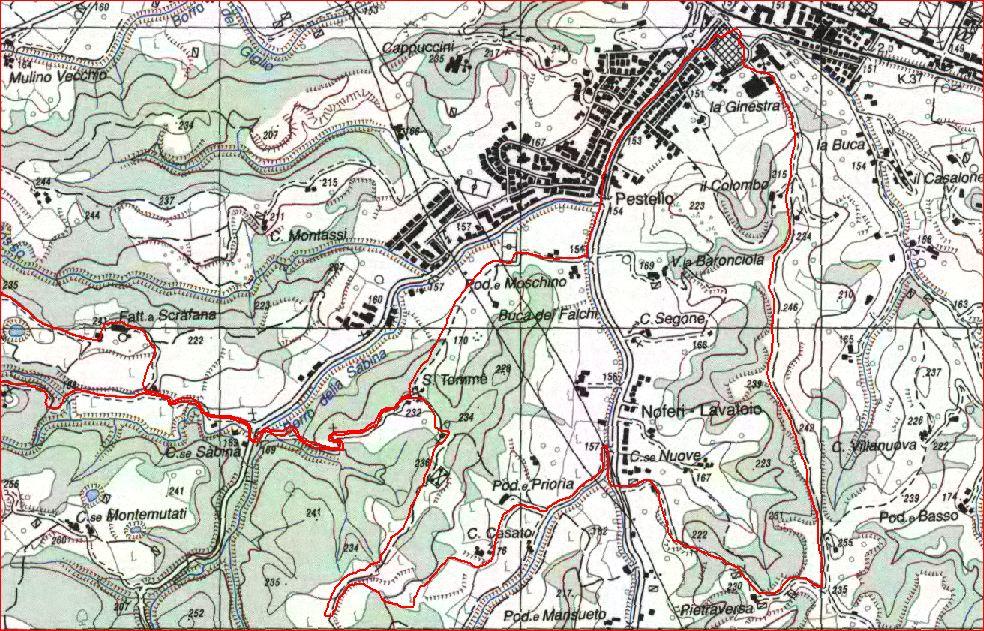 Montevarchi San Tommè Poggio San Marco Fontebussi1