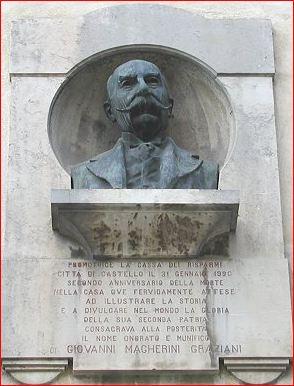 Busto di Giovanni Magherini Graziani