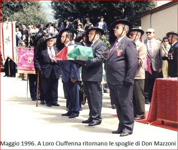 Cerimonia Don Mazzoni