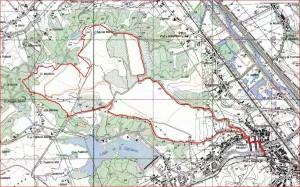Forestello Mappa