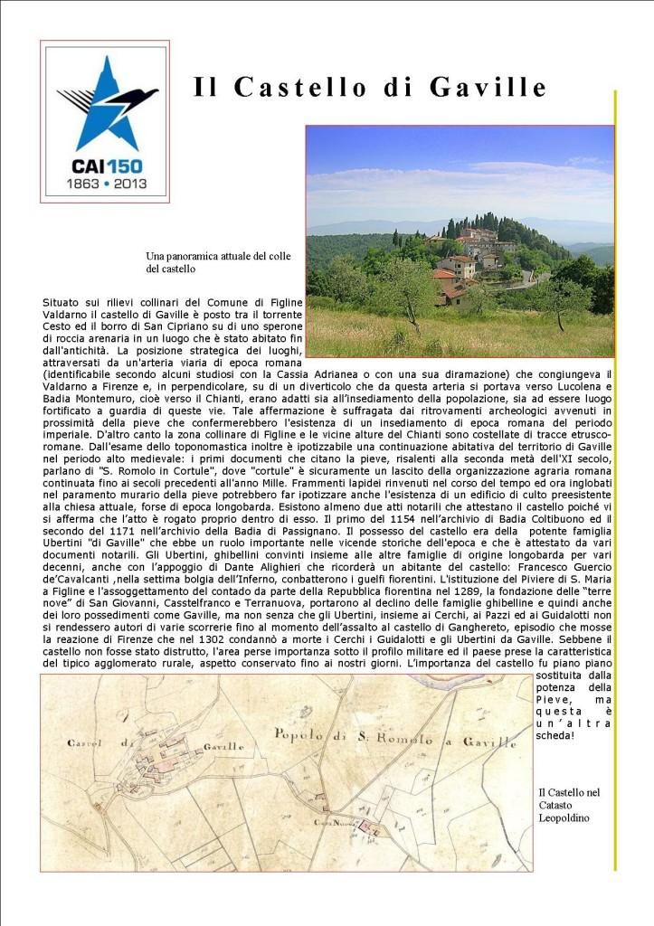 Il Castello di Gaville