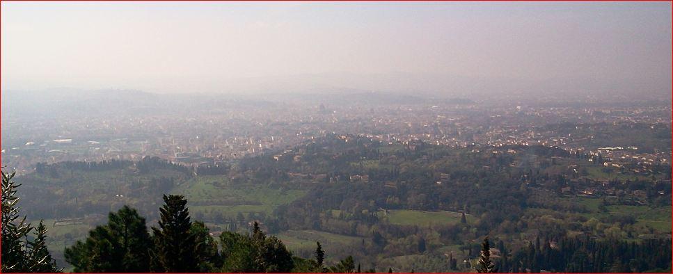 Una veduta di Firenze