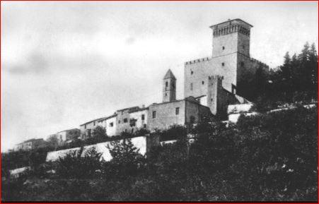 Il Castello di Nipozzano prima della guerra